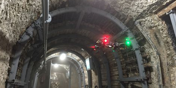 Flying Underground: The Use of Smart Flying Robots in Underground Infrastructure