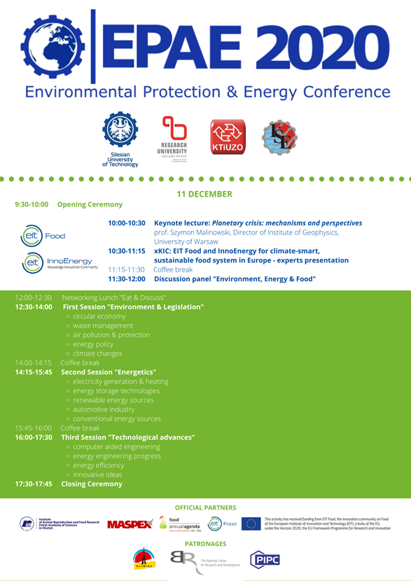 Environmental Protection and Energy Conference